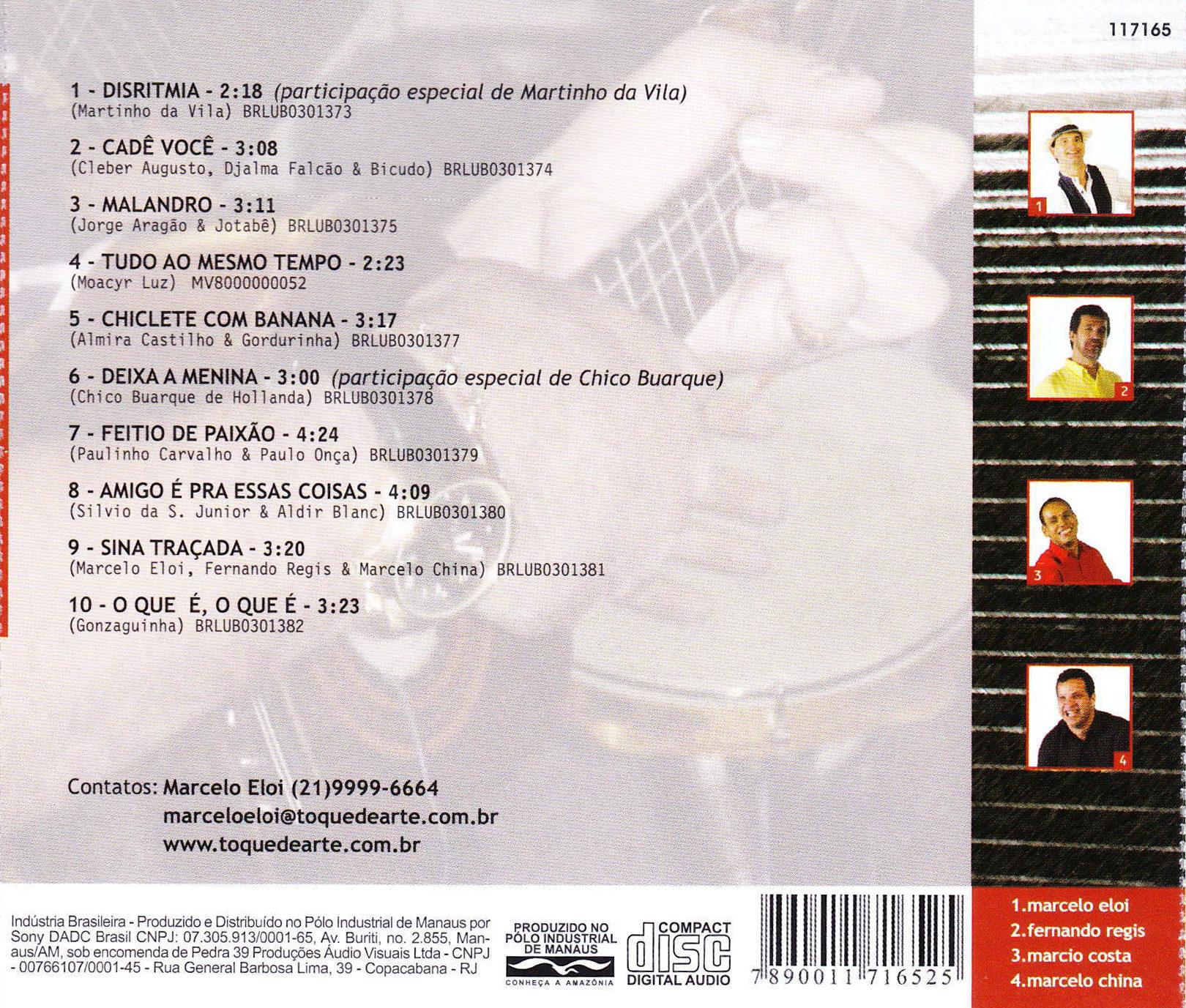 SAMBA E VOZ – 2004 (Capa)
