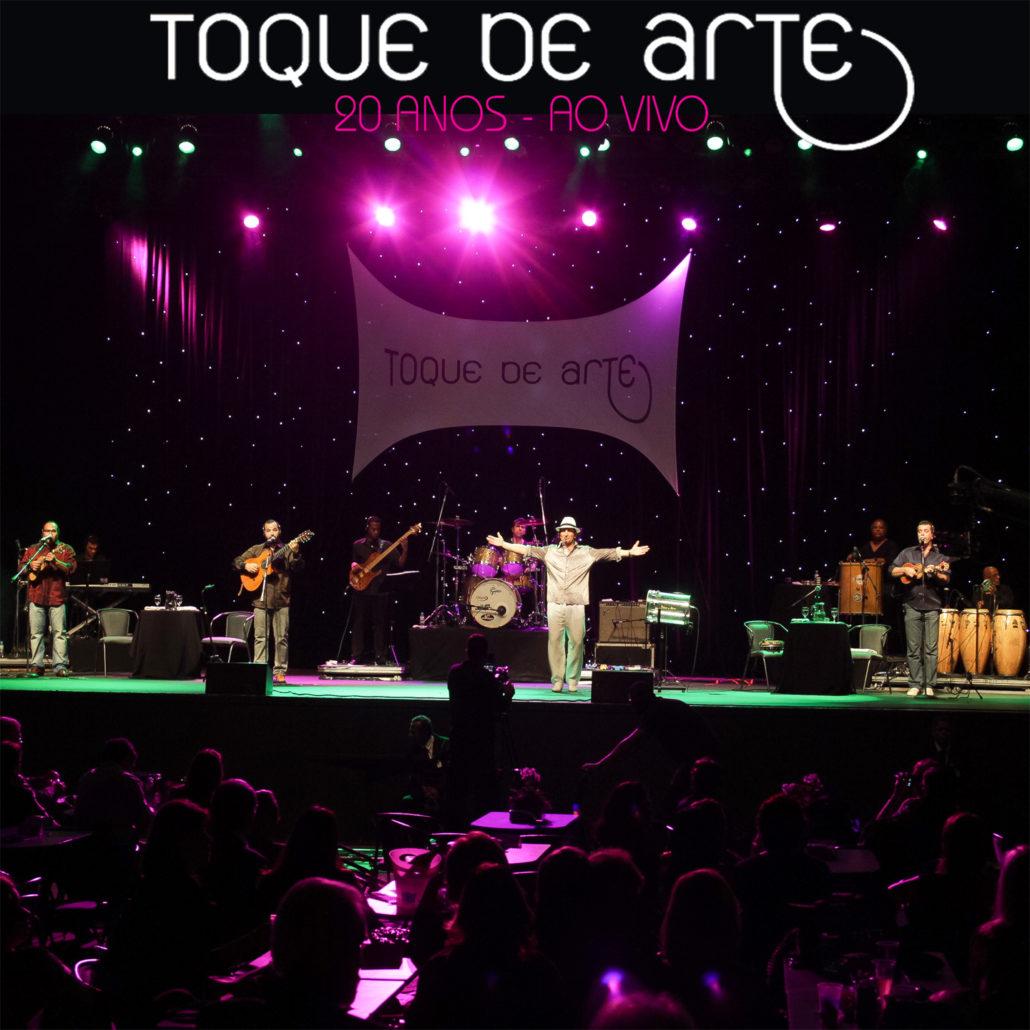 """""""Toque de Arte – 20 Anos – Ao Vivo"""" – 2017 (Capa)"""